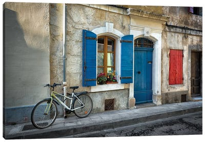 Arles Bicycle Canvas Art Print