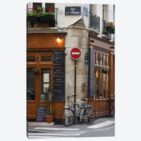 Rue de la Colombe Canvas Print #MAP8} by Melanie Alexandra Price Canvas Artwork