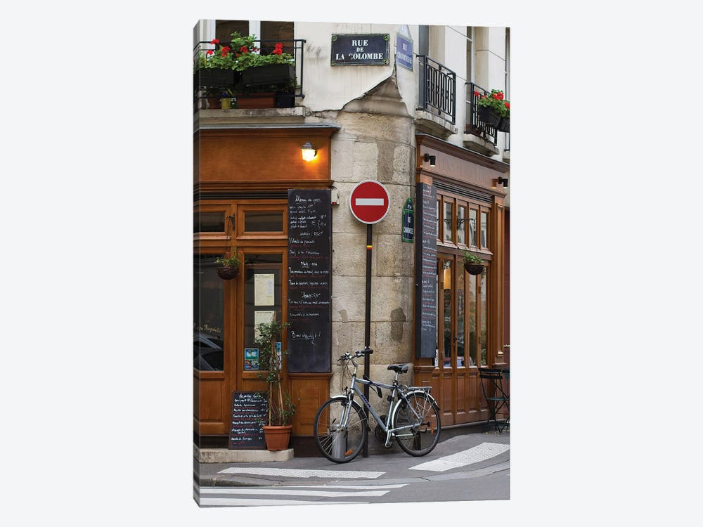 Rue de la Colombe 1-piece Canvas Art Print