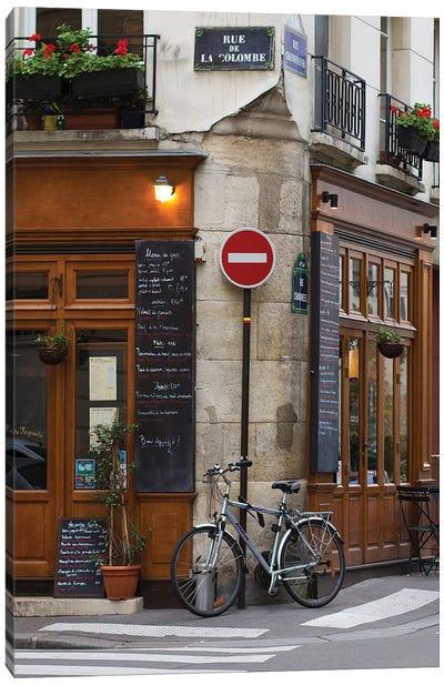 Rue de la Colombe Canvas Art Print