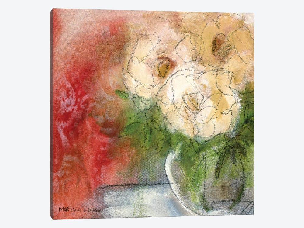 Bouquet I by Marina Louw 1-piece Canvas Wall Art