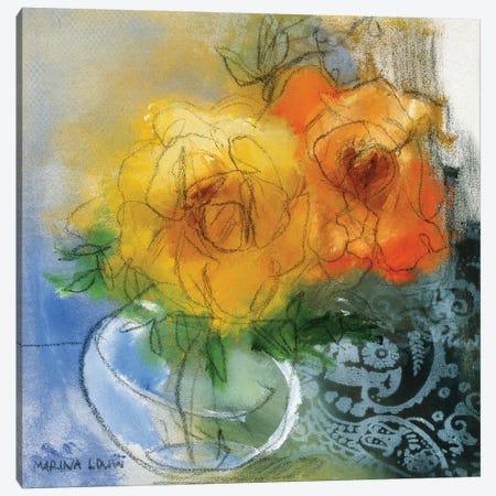 Bouquet II Canvas Print #MAR2} by Marina Louw Canvas Artwork