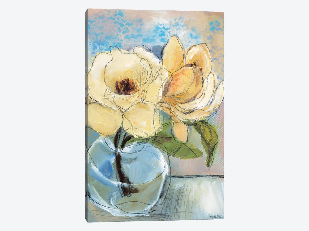 Magnolia Perfection II by Marina Louw 1-piece Art Print