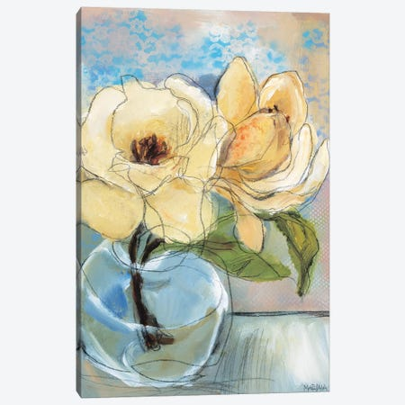 Magnolia Perfection II Canvas Print #MAR4} by Marina Louw Art Print