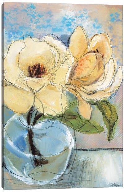 Magnolia Perfection II Canvas Art Print