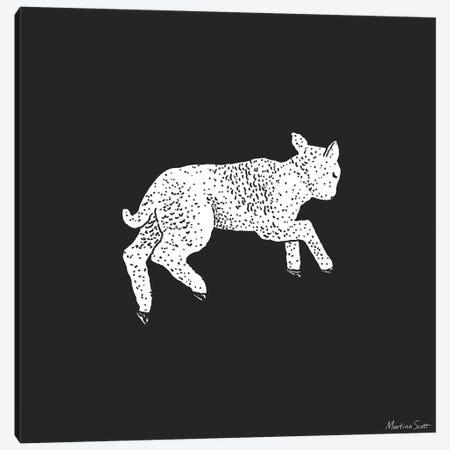 Little Lamb Canvas Print #MAS114} by Martina Scott Canvas Art Print