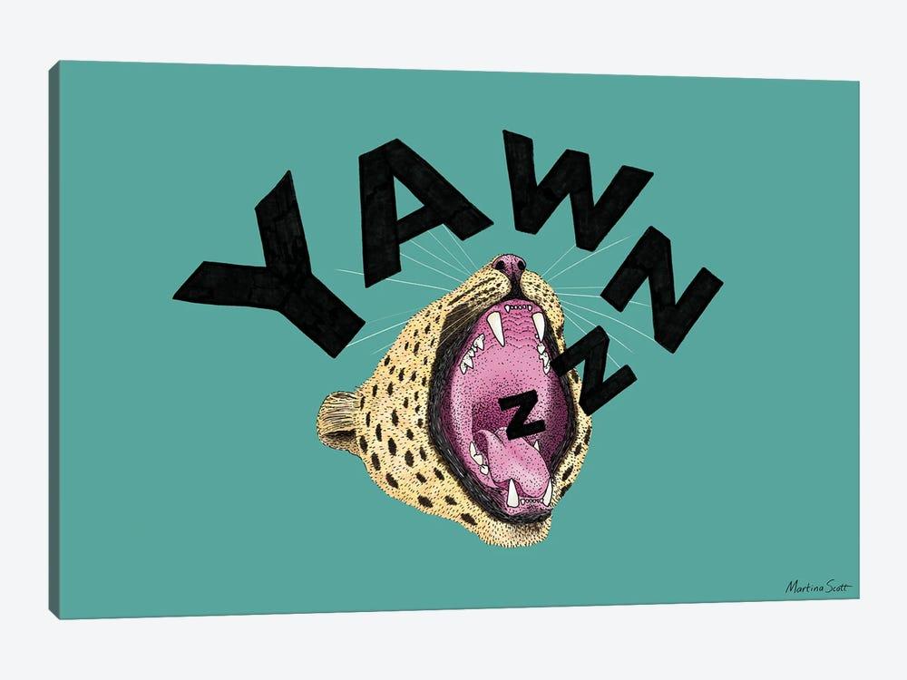 Yawnzzz by Martina Scott 1-piece Canvas Print
