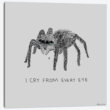 Cry From Every Eye Canvas Print #MAS13} by Martina Scott Canvas Print