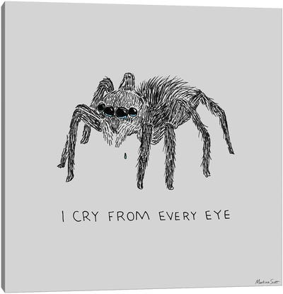Cry From Every Eye Canvas Art Print