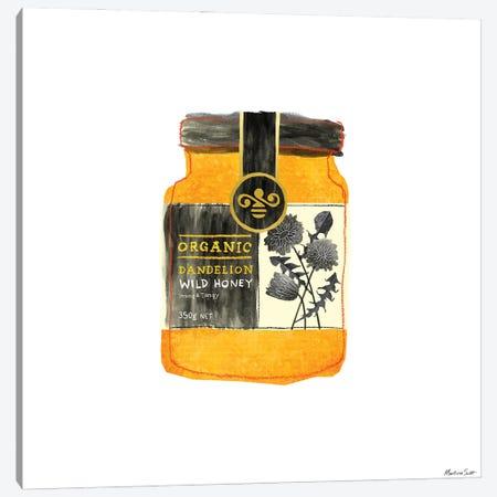 Dandelion Honey Canvas Print #MAS14} by Martina Scott Canvas Artwork