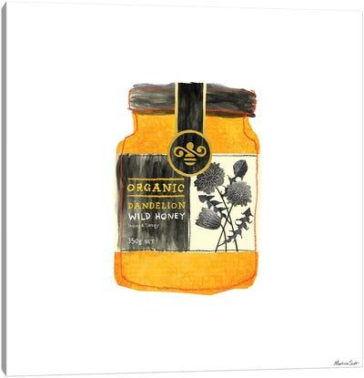 Dandelion Honey Canvas Art Print