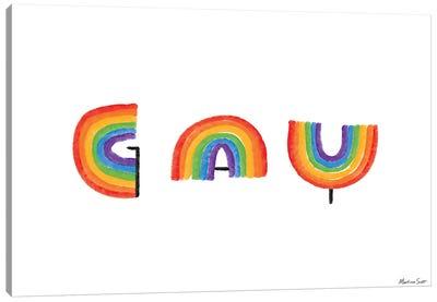 Gay Rainbows Canvas Art Print
