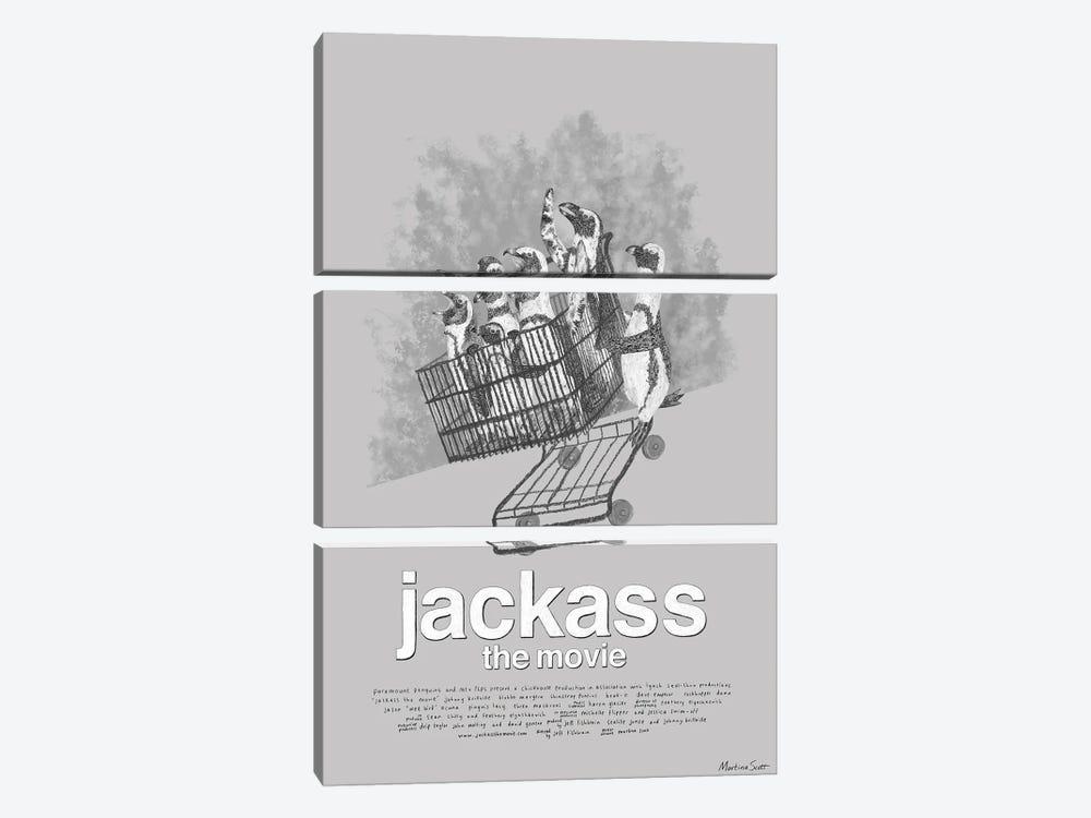 Jackass The Movie by Martina Scott 3-piece Canvas Artwork
