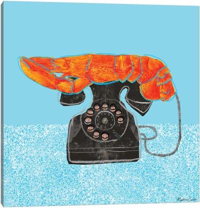 Lobster Telephone Canvas Art Print