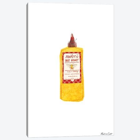Mike's Hot Honey Canvas Print #MAS35} by Martina Scott Canvas Art