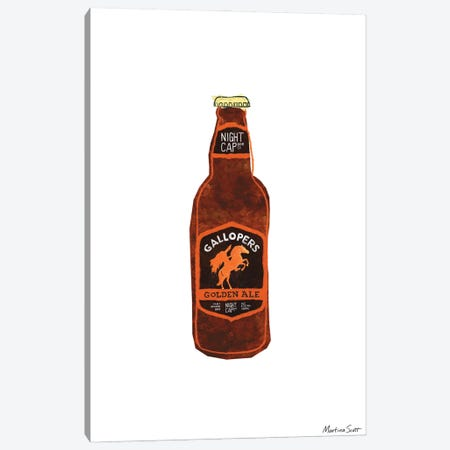 Northern Irish Craft Beer - Gallopers Canvas Print #MAS38} by Martina Scott Canvas Art Print