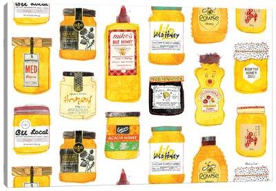 All The Honeys Canvas Art Print