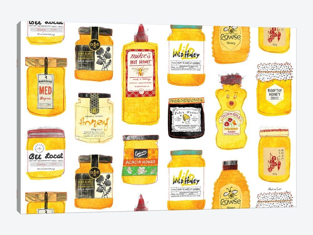 All The Honeys by Martina Scott 1-piece Canvas Art Print
