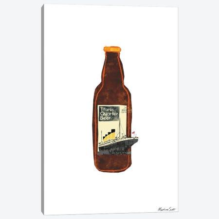 Northern Irish Craft Beer - Titanic Quarter Canvas Print #MAS44} by Martina Scott Art Print