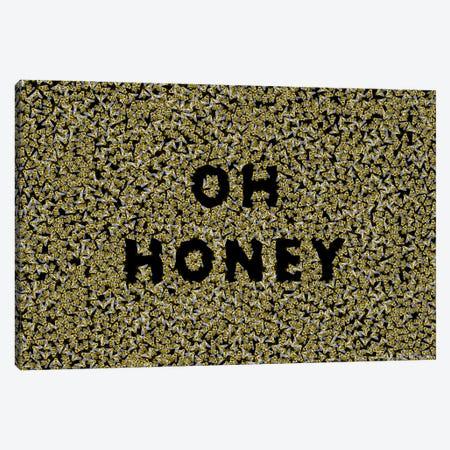 Oh Honey Canvas Print #MAS47} by Martina Scott Art Print
