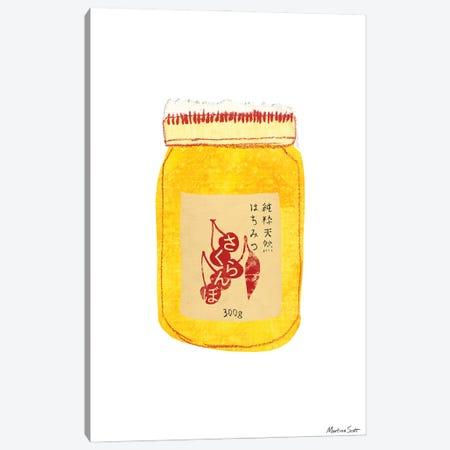 Akaoni Honey Canvas Print #MAS4} by Martina Scott Canvas Art