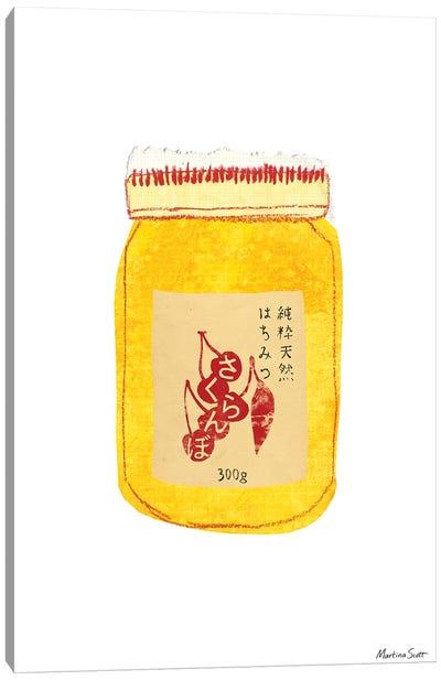 Akaoni Honey Canvas Art Print