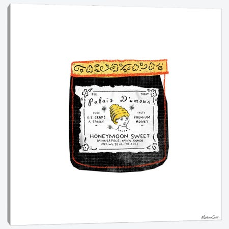 Palais D'Amour Honey Canvas Print #MAS50} by Martina Scott Canvas Print