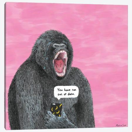 Pet Peeves - No Data Canvas Print #MAS54} by Martina Scott Canvas Art