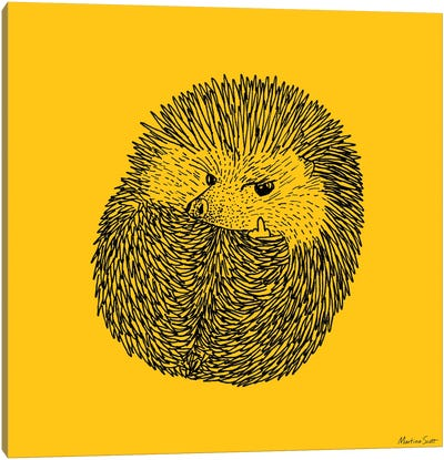 Prick (Yellow Edition) Canvas Art Print