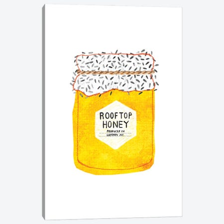 Rooftop Honey Canvas Print #MAS60} by Martina Scott Canvas Wall Art