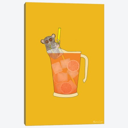 Sippin' On Gin And Juice Canvas Print #MAS65} by Martina Scott Canvas Print