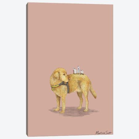 Three Blind Mice Canvas Print #MAS77} by Martina Scott Canvas Art