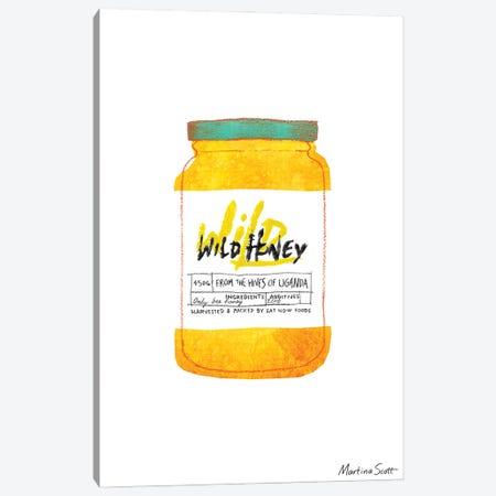 Wild Honey Canvas Print #MAS80} by Martina Scott Canvas Wall Art