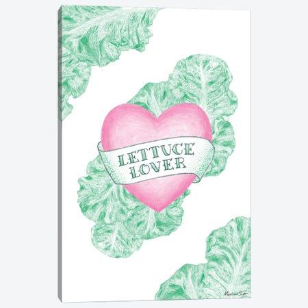 Lettuce Lover Canvas Print #MAS84} by Martina Scott Canvas Art Print