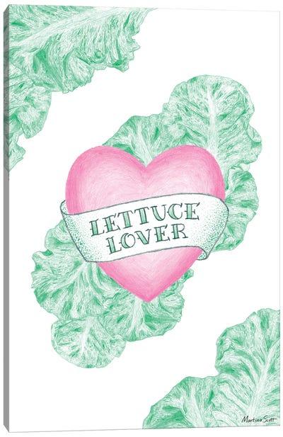 Lettuce Lover Canvas Art Print