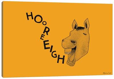 Hooray Horse Canvas Art Print