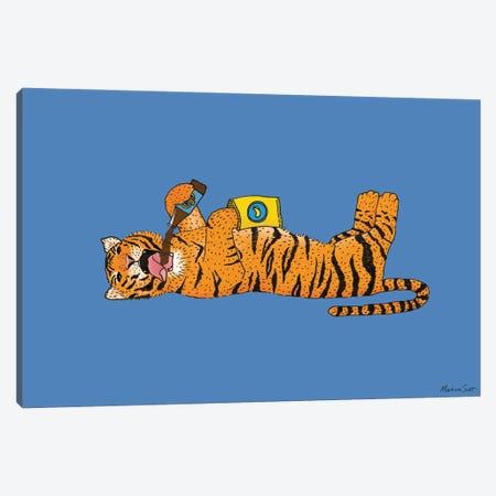 Living The Wild Life Canvas Print #MAS97} by Martina Scott Canvas Wall Art