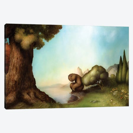 Solitude Canvas Print #MAY106} by Dan May Canvas Art