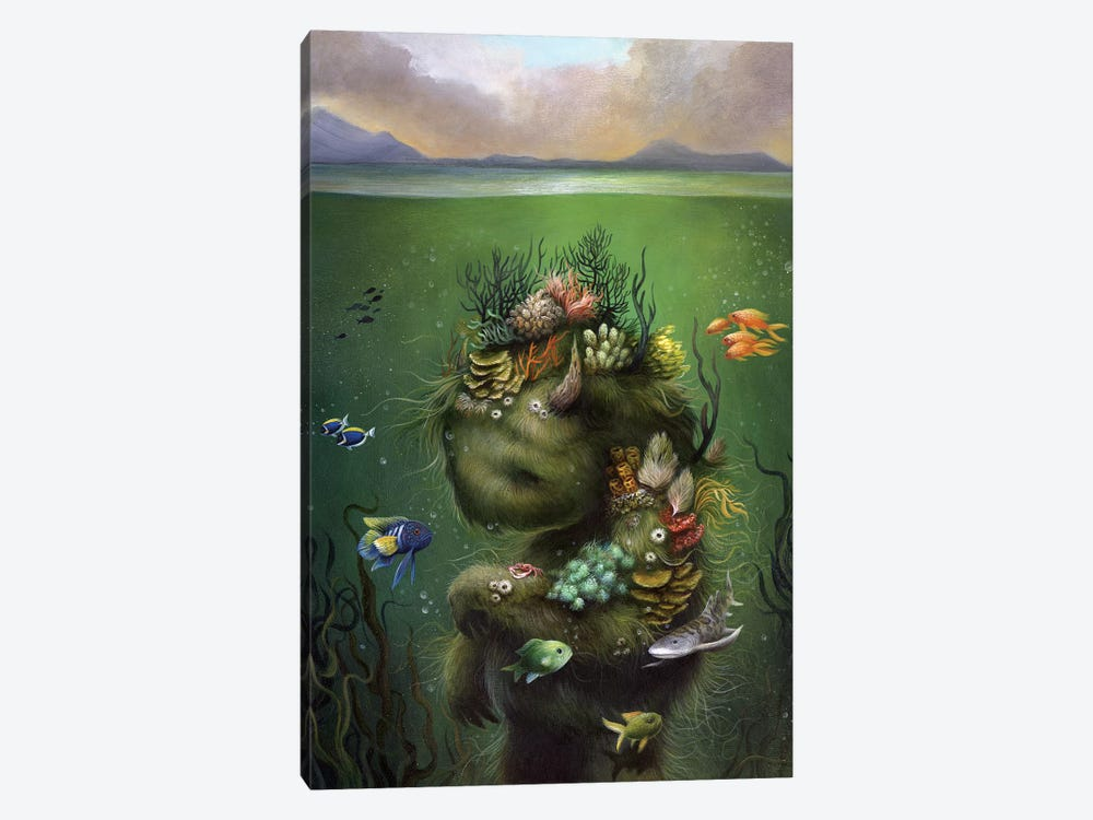 Submerged by Dan May 1-piece Art Print