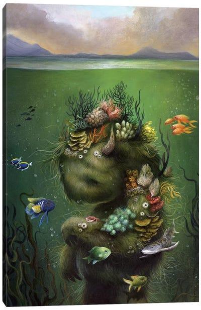 Submerged Canvas Art Print
