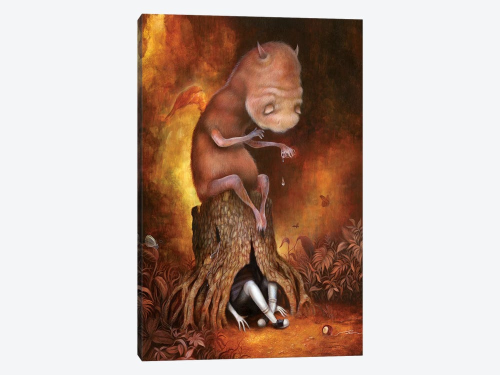The Weeping Tree by Dan May 1-piece Canvas Artwork