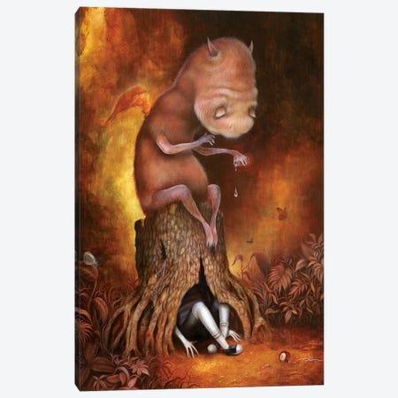The Weeping Tree Canvas Print #MAY117} by Dan May Art Print