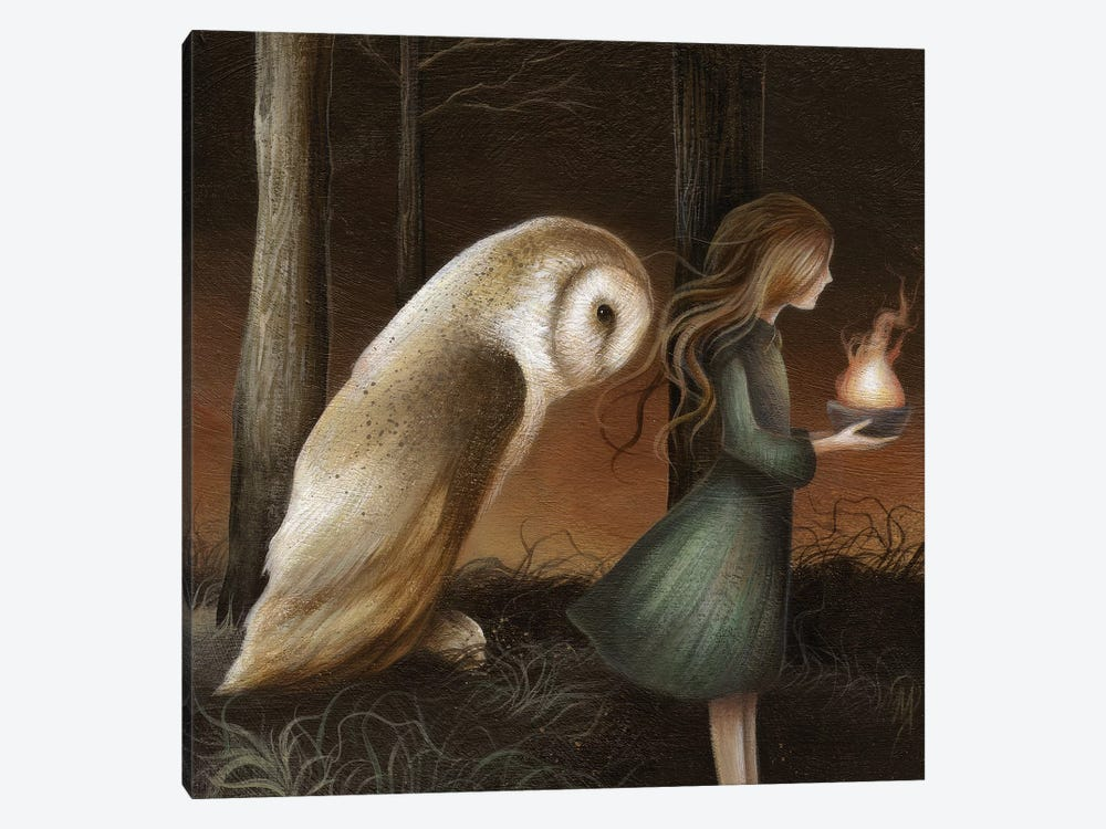 The Offering by Dan May 1-piece Canvas Art Print