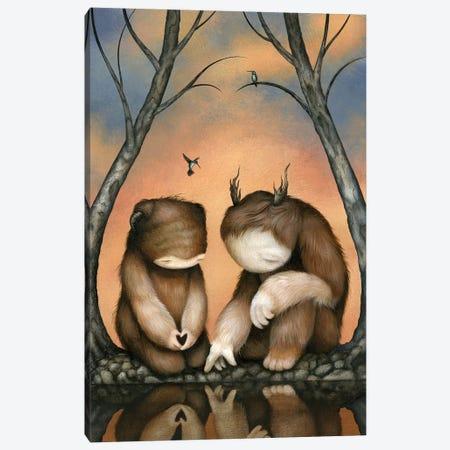 At The Waters Edge Canvas Print #MAY12} by Dan May Art Print