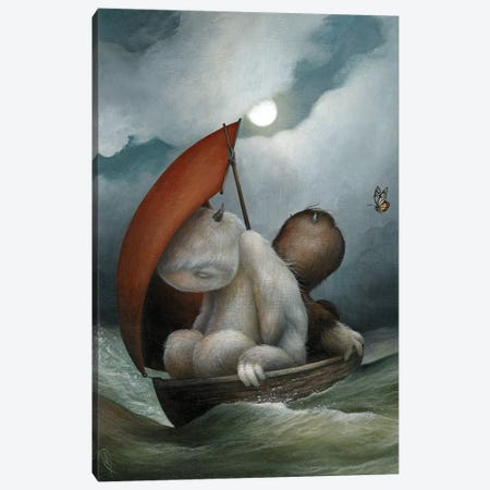 The Seafarer's Symphony Canvas Print #MAY134} by Dan May Canvas Art Print