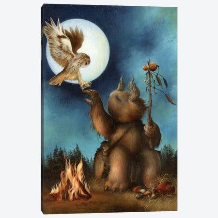 The Shaman Canvas Print #MAY136} by Dan May Canvas Art Print