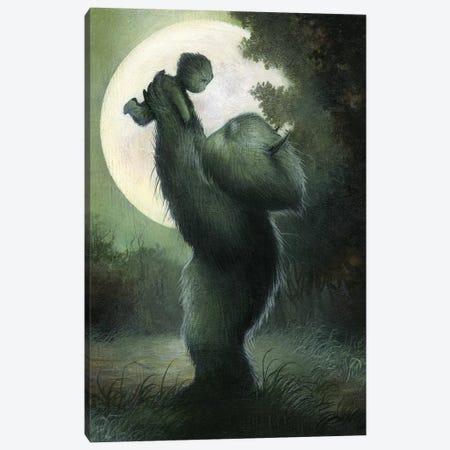 To The Moon Canvas Print #MAY140} by Dan May Art Print