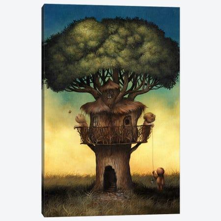 Tree House  Canvas Print #MAY141} by Dan May Art Print