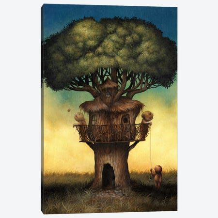 Tree House  Canvas Print #MAY141} by Dan May Art Print