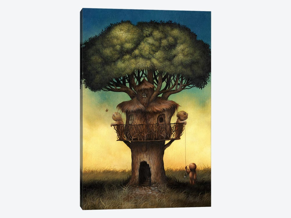 Tree House  by Dan May 1-piece Canvas Print